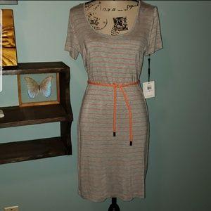 New Calvin Klein Nautical Jersey Dress